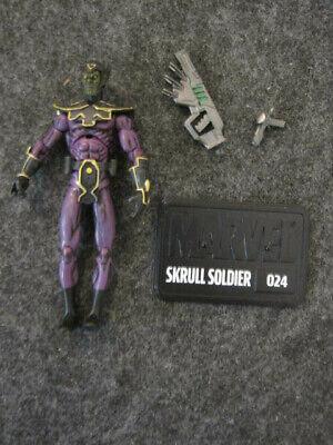 """Marvel Legends Universe 3.75"""" loose Skrull Soldier action figure Hasbro"""
