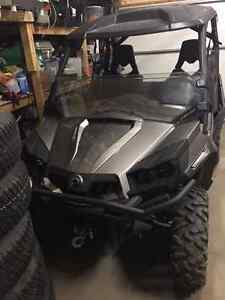2013 Can Am Commander 800 w/Roof; 1/2 WShield; Snow Blade; Door Regina Regina Area image 3