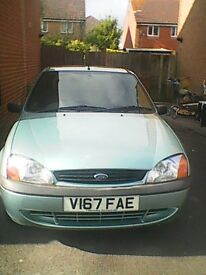 ford fiesta, perfect runner, good condition, no mot. selling because of financial difficulty