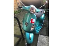 Mint Green Vespa LX 125 Moped (2013) Approx 683 miles (1,098 KM) on the clock