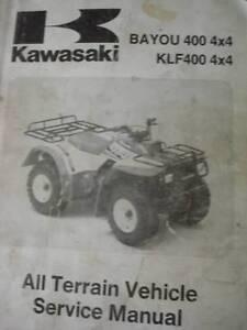 KAWASAKI BAYOU  400 KLF  4 X 4 WORKSHOP SERVICE MANUAL c1994 Perth Perth City Area Preview