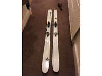 Ski touring equipment- Black Diamond Carbon Convert Skis with Dynafit TLT Radical ST Bindings