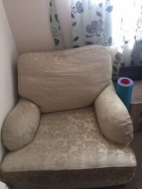 Good condition corner single sofa