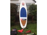 RED Allwater 9'6 Inflatable Paddle Board - including Kit