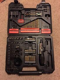 screwdriver and drill bits full set