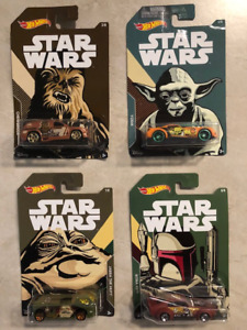 Star Wars and Hanna Barbera Hotwheels Cars