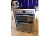BEKO BDVC674MS - electric ceramic cooker with double oven. Only 6 weeks old. Width: 60 cm
