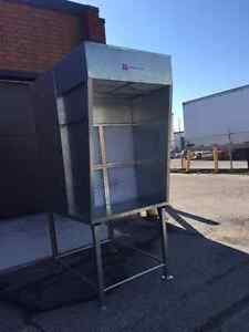 Bench Spray Booth Vent - less