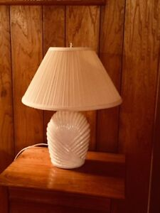 Ceramic Table Lamps- Only $15 for both!