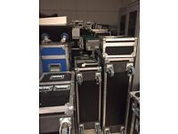 Job lot of Used Flightcases in Good Condition near Bham Airport