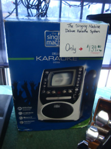 The Singing Machine Deluxe Karaoke System ON SALE