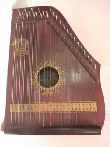 WOW Condition Antique Rare Menzenhauer Guitar Zither no 2 Hudson & Fulton