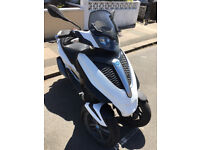 2012 Piaggio MP3 300 Yourban LT in White great condition