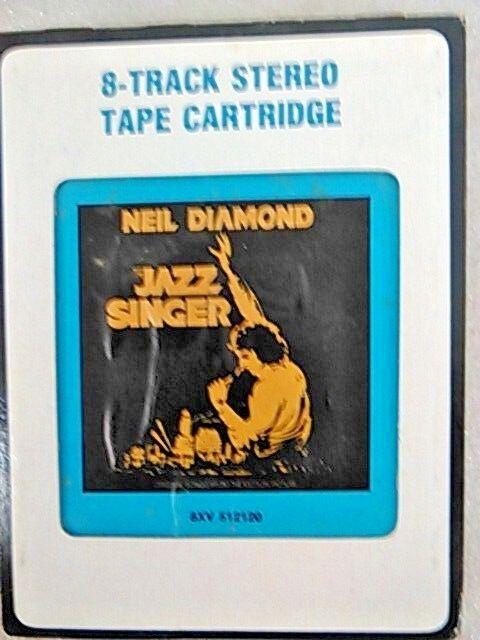 Neil Diamond - The Jazz Singer on 8-Track Tape w/ Orig Box