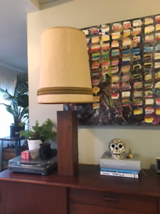 Mid-century modern retro table lamp