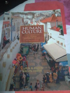 Human Culture, Highlights of cultural anthropology