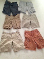 American Eagle + Old Navy Shorts - Size 33/34