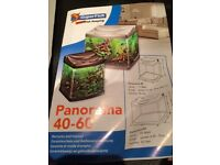 Superfish Aquarium Panorama 25litre plus heaters, filters etc. (all offers considered)