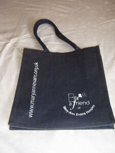 CANVAS-CHARITY-SHOPPING-TOTE-BAG-TWO-HANDLED-JUTE-SHOPPER-MARY-ANN-EVANS