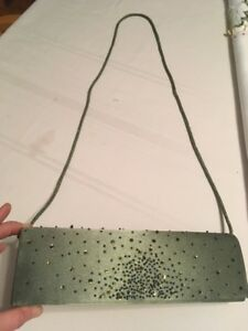 *NEW* Clutch Purse Greyish Olive Oreen (reg $45)