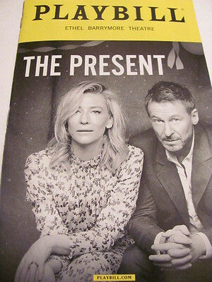THE PRESENT Playbill Broadway Play New York CATE BLANCHETT Musical NY