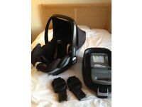 Maxicosi car seat and isofix