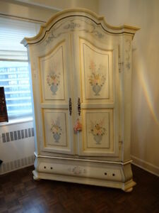 Armoire with Shelves
