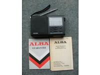 Alba 9 Band Portable Radio