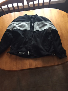 Motor cycle coat