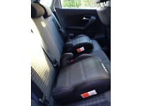 Two child car booster seats