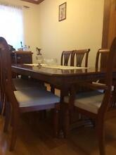 Dining table with eight chairs Wollongong 2500 Wollongong Area Preview