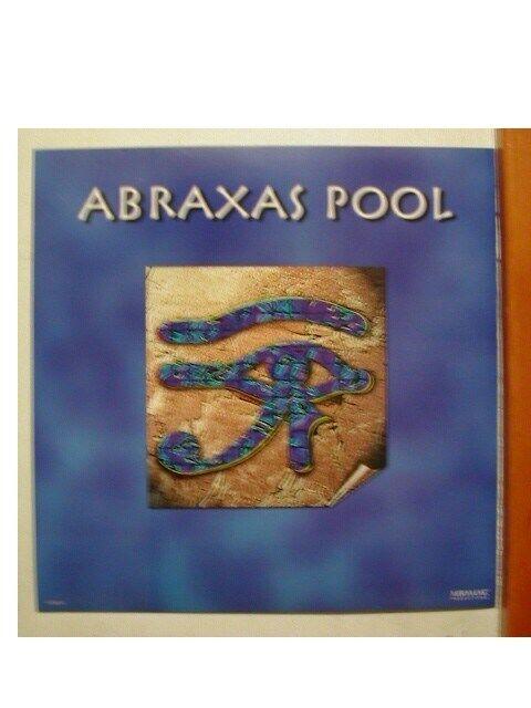 Abraxas Pool Poster Flat Santana Journey