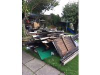 FREE - Firewood, building materials, lead. Collection ASAP in Stonehaven.