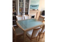 Gautier Extendable Dining Table and 6 Chairs
