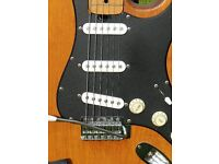 Electric Guitar - Strat style. From late seventies / early eighties.