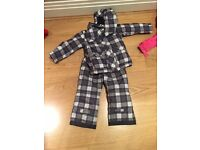 Boys 2 piece ski / winter suit