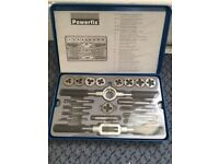 Powerfix Tap and Die set