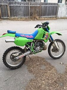 Kawasaki KDX 200cc low miles well maintained