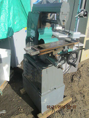 Msc Small Horizontal Milling Machine Model 951833 Horiz Mill