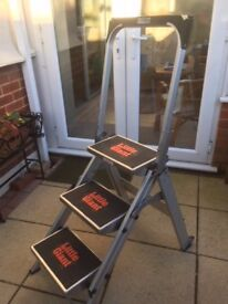 Little Giant Safety Step (3 step ladder with tool tray)
