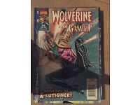 Wolverine and Gambit comic