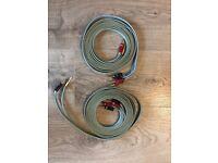 Van den Hul Sky-Track Hybrid BiWire Speaker Cable - 4m each
