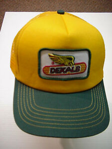 DEKALB Seed Hat Cap-Trucker-Contractor-Baseball -FREE ShIpping - BOXED  x