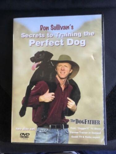 Don Sullivan Secrets to Train The Perfect Dog, 2 DVDs