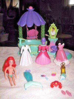 Spa Gazebo (Disney Polly Pocket Little Mermaid Ariel Gazebo Garden Spa Jacuzzi Lot )