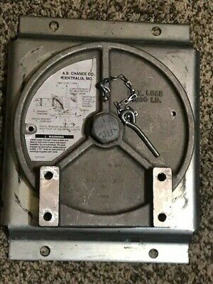 Ab Chance Capstan Swivel Bracket C3080903 P308-0901