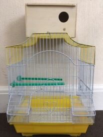Bird Cage and Breeding box (Unused)