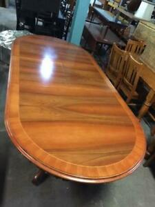 F38024 Vintage and French Style Oval Extension Dining Table Mount Barker Mount Barker Area Preview