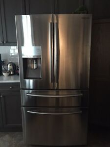 Samsung 30.2 CF Stainless Steel Fridge/French Door