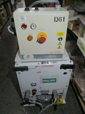 BOC Edwards QDP80 Dry Mechanical Vacuum Pump w/ Q Series 2- MCM Controller LAM